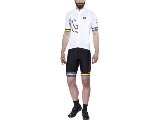 Bioracer Van Vlaanderen Pro Race Asukokonaisuus Miehet, white
